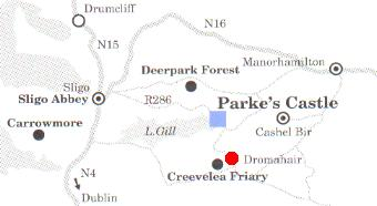 How to find Parke's Castle